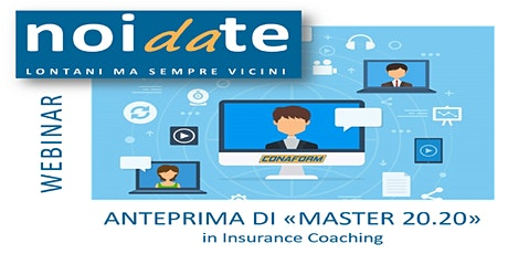 "Anteprima di ""Master 20.20"" in Insurance Coaching biglietti"