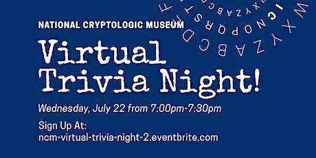 NCM Virtual Trivia Night #2 tickets