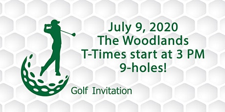 Golf Group 2020..July 9th....First Tee Time 3PM tickets
