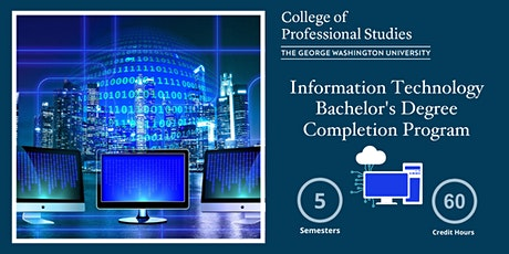 Information Technology Bachelor's Degree Completion Online Info Session tickets