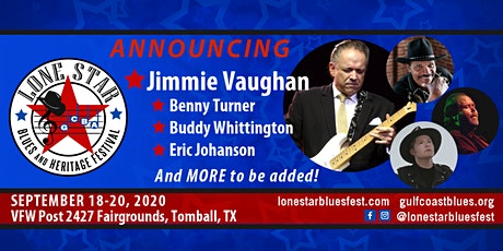 GCBA Lone Star Blues & Heritage Festival tickets