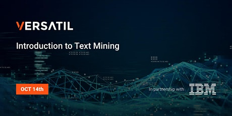 Introduction to Text Mining tickets