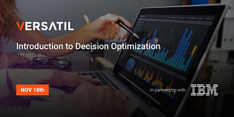 Introduction to Decision Optimization tickets