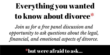An Evening with Divorce Specialists tickets