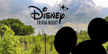 Disney Trivia at KC Wine Co- reschedule tickets