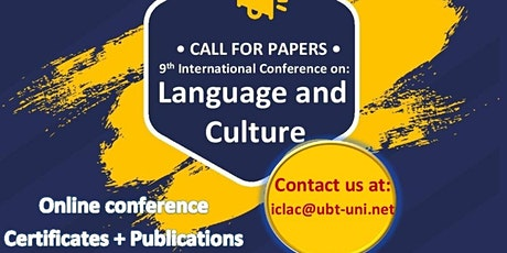 UBT International Conference on Language and Culture tickets