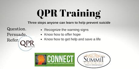 Virtual QPR Training | Session One tickets