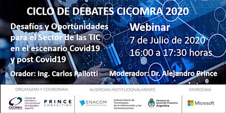 Desafíos y Oportunidades para el Sector de las TIC en el escenario Covid19 entradas