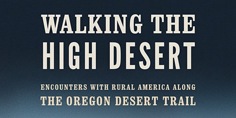 """Walking the High Desert"" Virtual Book Launch tickets"