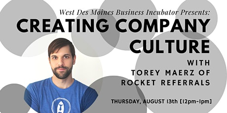 [VIRTUAL] Expert Advice // Creating Company Culture w/ Torey Maerz tickets