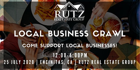 Local Business Crawl: Come Support Local Businesses in Encinitas, CA tickets