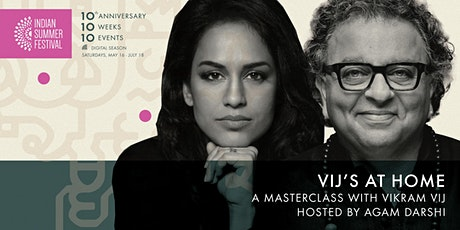 ISF2020: Vij's at Home: A masterclass with Vikram Vij hosted by Agam Darshi tickets
