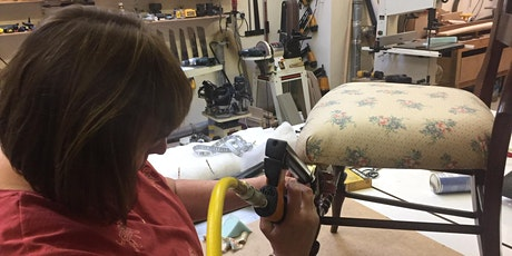 Beginner's upholstery half day course £50 tickets