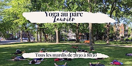Yoga au Parc Laurier — Tous les mardis billets