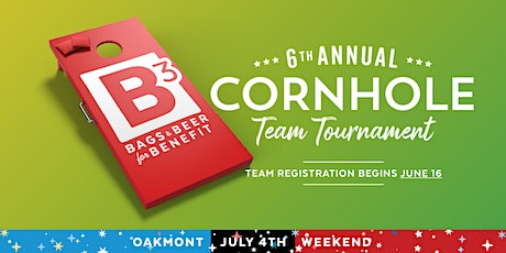 6th Annual B3 Cornhole Tournament - Sunday, July 5th tickets