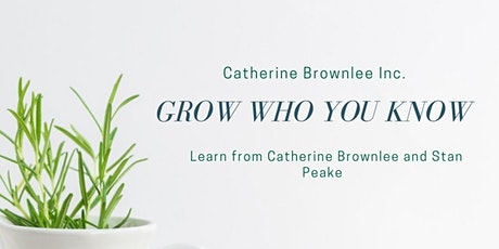 Grow Who You Know tickets