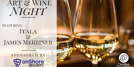 July Art & Wine Night tickets