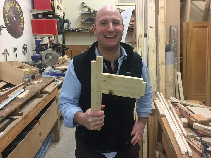 Mortice and Tenon Day Course - 10.00am-4.00pm image
