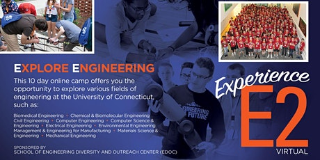 Virtual Explore Engineering Camp for High School Students tickets