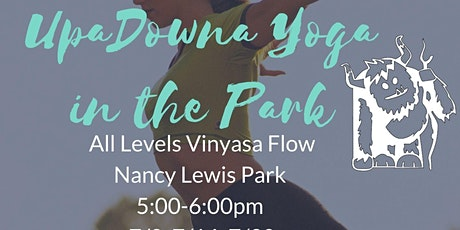UpaDowna Yoga in the Park tickets