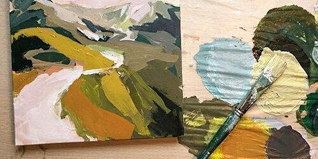 Abstract Landscape Painting: Online Workshop tickets