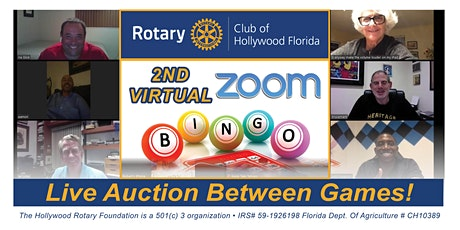 Virtual Bingo with Rotary Club of Hollywood tickets
