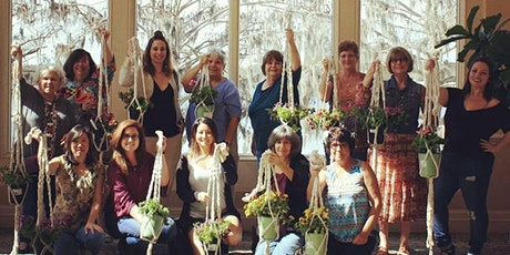 Macrame Plant Hanger DIY for Adults tickets