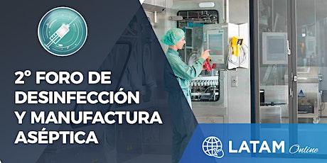 LATAM Online | Foro de Desinfección y Manufactura Aséptica tickets
