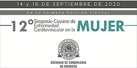 12 Simposio de Enfermedad Cardiovascular en la Mujer entradas