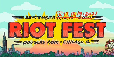 Riot Fest 2021 tickets