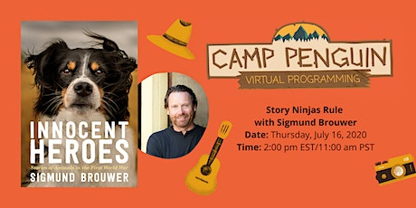 Camp Penguin: Story Ninjas Rule with SIGMUND BROUWER tickets