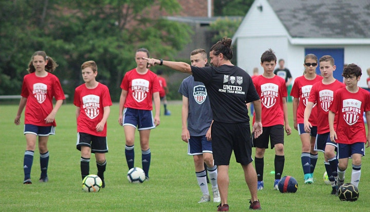 Empire United High School Preseason Training Camp image