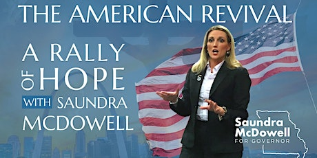Saundra McDowell for Governor, Springfield, MO Rally tickets