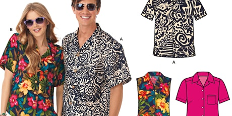 Make a Button Down shirt from a printed pattern+ tickets