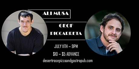 Ali Musa & Geof Piccarreta - Desert Rose w/ Kate Borrell-downtown Glendale tickets