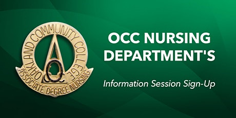 Nursing Info Session tickets