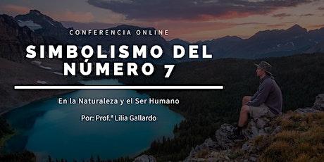 Conferencia Online: Simbolismo del Número 7 entradas