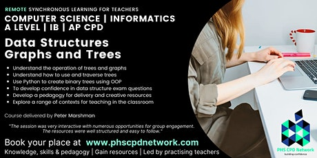 A-Level / AP / IB Computer Science - Dynamic data structures graphs & trees tickets