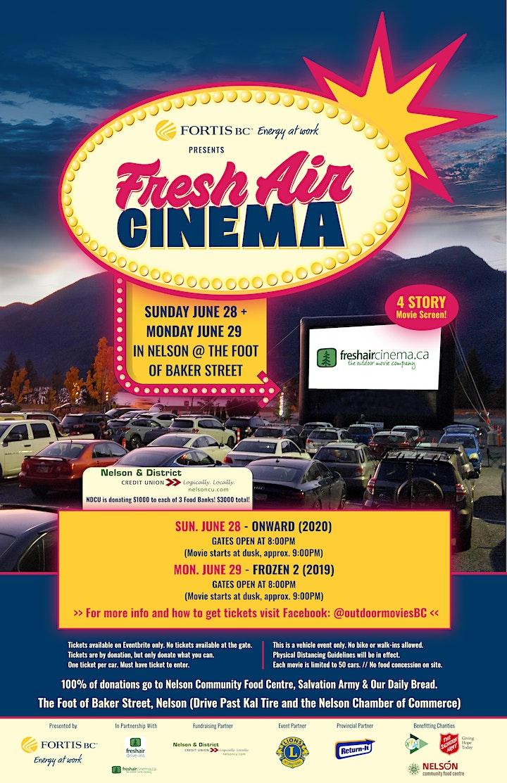 FortisBC presents FreshAirCinema  in Nelson (Jun.28): Onward (2020) image