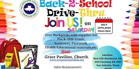 Back-2-School Drive-Thru tickets