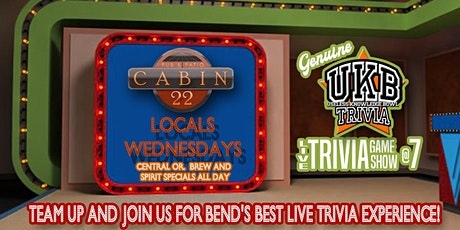 Wednesday Locals Day and Trivia tickets