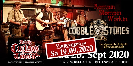 Cobblestones Konzert 2020 Tickets