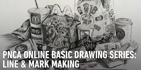 CE Online Workshops Basic Drawing Series: Line & Mark-Making tickets