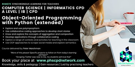 A-Level / AP /  IB Computer Science - Object Oriented Programming Extended tickets