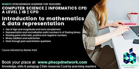 A-Level / AP /  IB Computer Science Data Representation - Binary conversion tickets