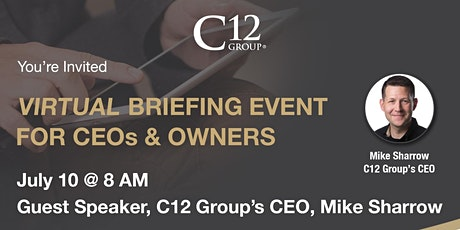C12 Chicago Executive Briefing- Virtual Event with Mike Sharrow tickets