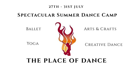 SPECTACULAR SUMMER DANCE CAMP AGE 5-9 tickets
