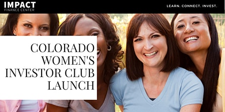 Colorado Women's Investor Club Launch tickets