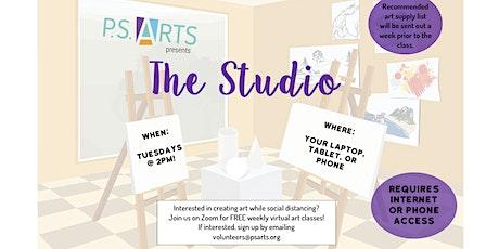 The Studio! - FREE Virtual Visual Arts & Movement Classes for 55+ tickets