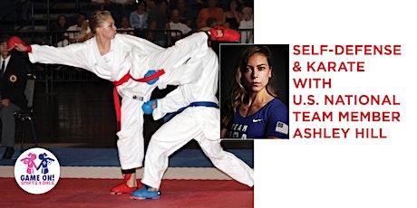 Online Karate & Self Defense Session w/USA Karate Team Member Ashley Hill tickets